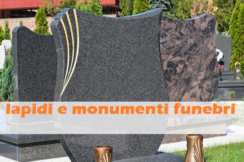 lapidi e monumenti funebri monza